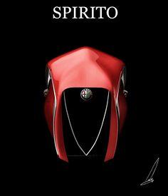 Концепт Alfa Romeo Spirito