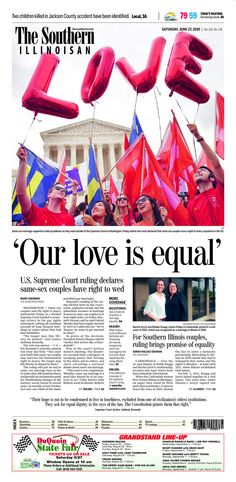 The southern illinoisan see more 1 the southern illinoisan front pages