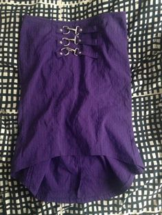"Gangsta Pranksta ""Bettie Bruiser"" skirt in purple in L"