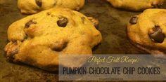 Pumpkin Chocolate Chip Cookie Recipe - Triple Threat Mommy