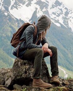 outdoorsy type :)