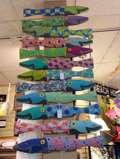 Fish wood Signs wall Art