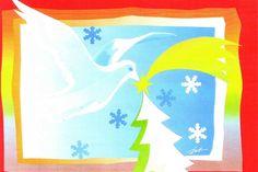 """Ischtwan © Karte """"Weihnachtstaube"""""""