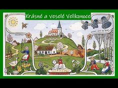Velikonoční přání, s obrázky Josefa Lady - YouTube Layout, Peanuts Comics, Entertainment, Youtube, Art, Art Background, Page Layout, Kunst, Performing Arts
