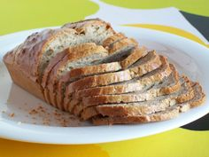 You need only four ingredients to make this simple, delicious, gluten-free low-carb bread which is high in protein. What is really nice that you can cut as thin slices as you want since this bread …