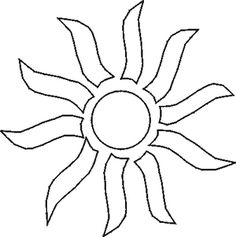 "Free Printable Nature Stencils: <a href=""http://painting.about.com/library/blpaint/blstencil-sun1.htm"">Sun stencil</a>"