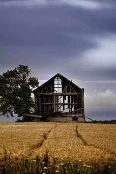 I just love old barns. There is something about them.