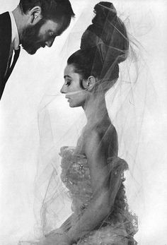 """Audrey Hepburn and husband Mel Ferrer photographed by Bert Stern for a 1963 Vogue fashion editorial: """"The Givenchy Idea"""". Audrey is wearing an evening dress by Givenchy. A cocoon of romancey pink tulle with an inner layer of embroidery –mother of. Bert Stern, Divas, Marilyn Monroe, Katharine Ross, Audrey Hepburn Style, Audrey Hepburn Husband, Audrey Hepburn Fashion, Audrey Hepburn Givenchy, Audrey Hepburn Children"""