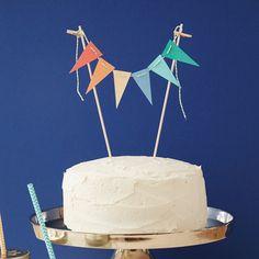 Six Flags Cake Bunting | dotandbo.com