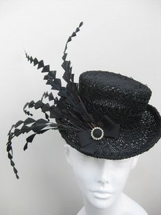 Mini top hat Downton Abbey style by Swan and Stone