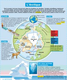 Educational IG on Arctica 2 North Pole Expedition, Geography Map, French Class, Learn French, French Language, Cartography, World Cultures, Science And Nature, Book Activities