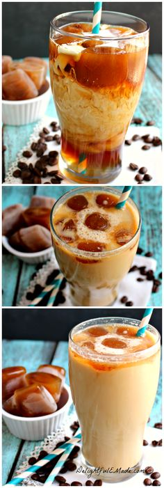 Stop paying loads of money on iced coffee at the drive-thru, when you can make a seriously delicious cup right at home. The perfect on-the-go coffee drink!