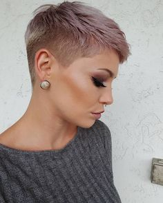 Today we have the most stylish 86 Cute Short Pixie Haircuts. We claim that you have never seen such elegant and eye-catching short hairstyles before. Pixie haircut, of course, offers a lot of options for the hair of the ladies'… Continue Reading → Popular Short Hairstyles, Short Pixie Haircuts, Super Short Hairstyles, Short Shaved Hairstyles, Pixie Haircut Styles, Pixie Cut Styles, Curly Haircuts, Short Grey Hair, Short Hair Cuts