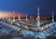 Fototapete Moschee Medina , 388 x 270 cm