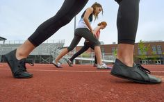 Minimalist Black Softstar Running Shoes