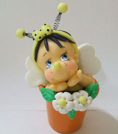 Adorable bee girl. With picture instructions