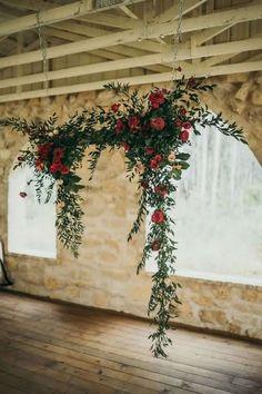 51 Ideas Garden Wedding Ceremony Arch Hanging Flowers For 2019 Wedding Altars, Wedding Ceremony Backdrop, Ceremony Arch, Church Wedding, Wedding Backdrops, Church Ceremony, Wedding Flower Backdrop, Wedding Reception, Wedding Venues