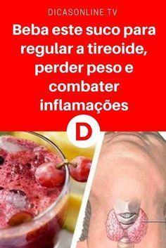 Regular tireoide | Beba este suco para regular a tireoide, perder peso e combater inflamações | Uma bebida especial para melhorar o funcionamento da tireoide. Aprenda a receita ↓ ↓ ↓