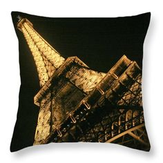 Throw Pillow featuring the photograph Eiffel by Silvia Bruno