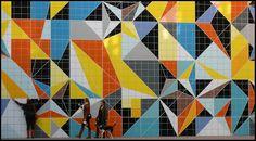 "Sarah Morris - Düsseldorf / Germany: K20. Building of the art collection of the state of Northrhine-Westphalia Sarah Morris: ""Hornet (Origami)"" | Flickr - Photo Sharing!"