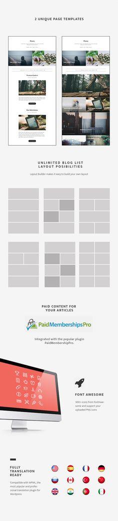 Blogary – Paid Centent Blog Magazine WordPress Theme