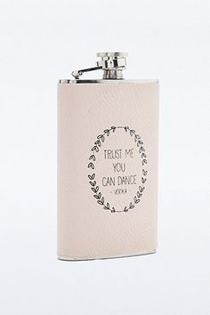 Trust Me You Can Dance Hip Flask