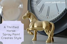 Yes, I'm loving the plastic animal re-fashion craze! There are so many creative ways to upcycle these fun and fabulous plastic animals. A super cheap and easy way to decorate. I love this Gold Coated Horse from Suburble I came... Continue Reading →