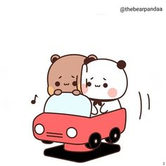 Couple Memes, Comics Story, Cute Stories, Funny Couples, Cute Images, Cry Baby, Driving Test, Panda Bear, Love Story