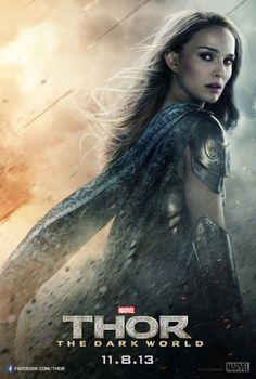 Thor: The Dark World Jane Foster poster
