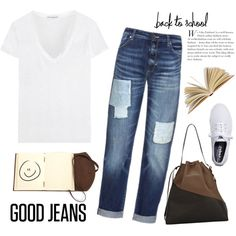 A fashion look from August 2015 featuring James Perse t-shirts, Sportmax jeans and Keds sneakers. Browse and shop related looks.