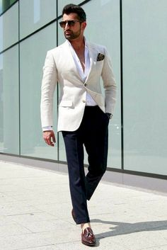 Edgy ways to dress up for men sneakers fashion, mens fashion blazer, preppy mens Blazer Outfits Men, Mens Fashion Blazer, Outfits Casual, Stylish Mens Fashion, Mode Outfits, Suit Fashion, Fashion Dresses, Fashion Photo, Fashion Edgy