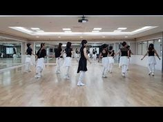 "Havana Cha Line Dance Choreographed by Ria Vos, September 2017 32 Count, 4 Wall, High Beginner Level Music: ""Havana (feat. Young Thug)"" by Camila Cabello Dan. Havana, Young Thug, Just Dance, Dance Videos, Fitness Inspiration, Exercise, Workout, Music, Dancing"