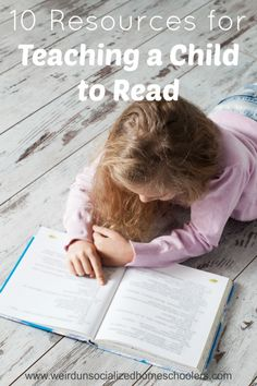 10 Resources for Teaching a Child to Read