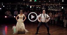 Отец и дочь не ограничились традиционным танцем на свадьбе