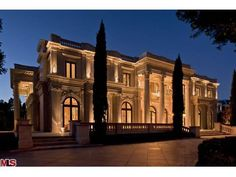 The most expensive home for sale in Beverly Hills as of 11/16/11: $55 million.