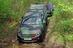 Preparadora lança linha de VW Amarok militares