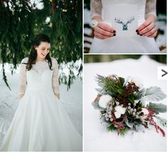 rustic winter weddings - Google Search