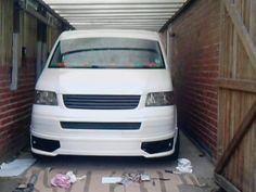 Vw T5 Tuning, Vw Bus, Volkswagen, Vw Transporter Van, Nissan 300zx, Campervan, Garage, Gadgets, Exterior