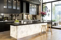 The Block 2016 – Week 11 Challenge Reveal 2 Luxury Interior, Interior Styling, The Block 2016, Cozy Backyard, Green Living Tips, Living Vintage, Interior Windows, Engineered Stone, Rustic Kitchen