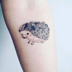 We're in love with this adorable hedgehog tattoo!  (Credit: tattoopeople.ca)