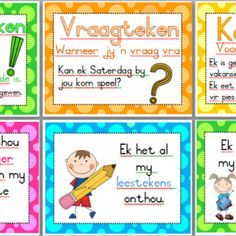 Afrikaans Language, Subject And Predicate, Math Poster, School Info, Science Experiments, Grade 1, Lesson Plans, Homeschool, Classroom