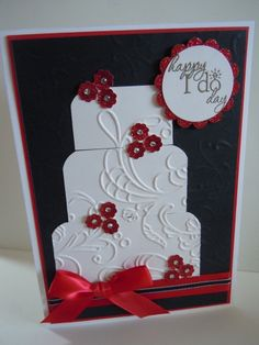 Wedding Cake by Lindam530 - Cards and Paper Crafts at Splitcoaststampers