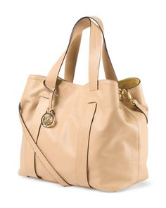 ASIA BELLUCCI Made In Italy Leather Tote