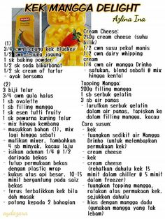 149 Best Resepi Azlina Ina Images Food Recipes Cake