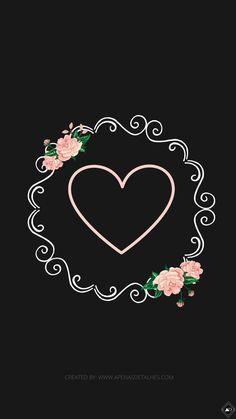 Perfil Instagram Background, Instagram Frame, Instagram Logo, Instagram Feed, Heart Wallpaper, Wallpaper Iphone Cute, Galaxy Wallpaper, Love Scrapbook, Scrapbooking