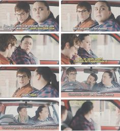 Archie, Rae and Danny. My Mad Fat Diary Season 3 Episode 1