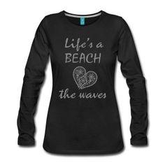 Lifes a beach T-shirt | Zensitvity Noordwijk