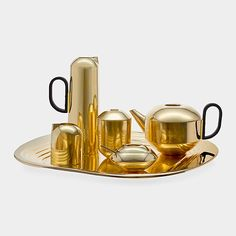 Gold Tea Set from MOMA Store/  Pieces can be purchased individually - Love Love!