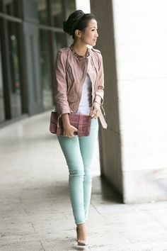 Pastel fashion trend for fall - http://fabyoubliss.com/2014/07/24/13-wearable-fashion-trends-for-fall-2014