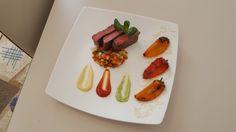 3 colors steak